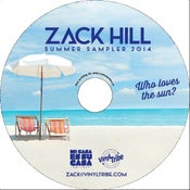 Image of Zack Hill - Summer Sampler 2014 (CD)