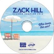Image of Zack Hill - Summer Sampler 2014 (CD)