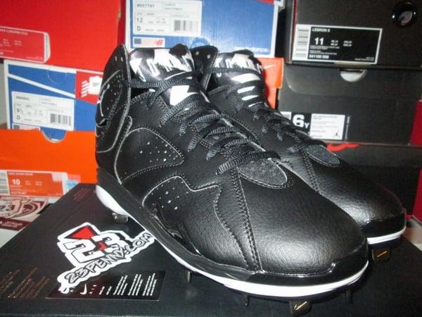 "Air Jordan VII (7) Retro Metal Cleats ""Blk"" - FAMPRICE.COM by 23PENNY"