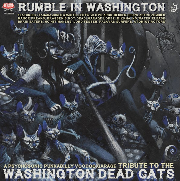 Image of Rumble In Washington - Washington Dead Cats - CD