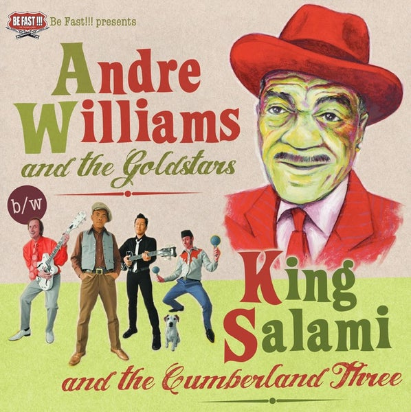 Image of Split André Williams/King Salami - Vinyl 33T