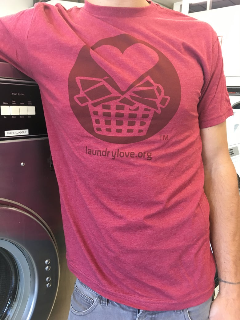 Image of Laundry Love Icon T-shirt