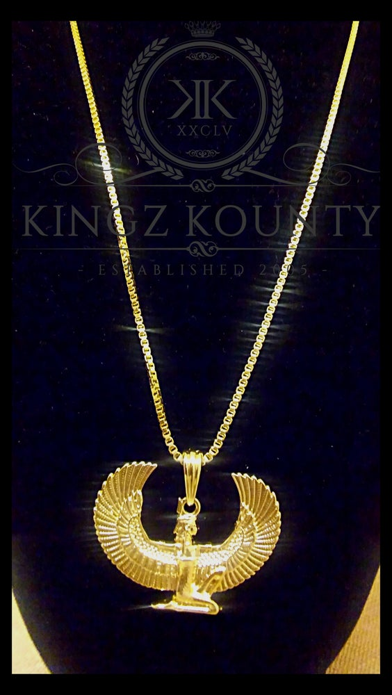 Image of MAAT WINGS NECKLACE