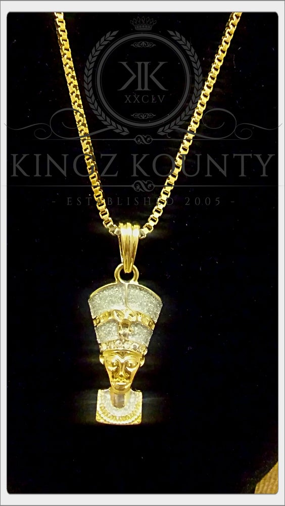 Image of KEMETIC QUEEN ICED OUT