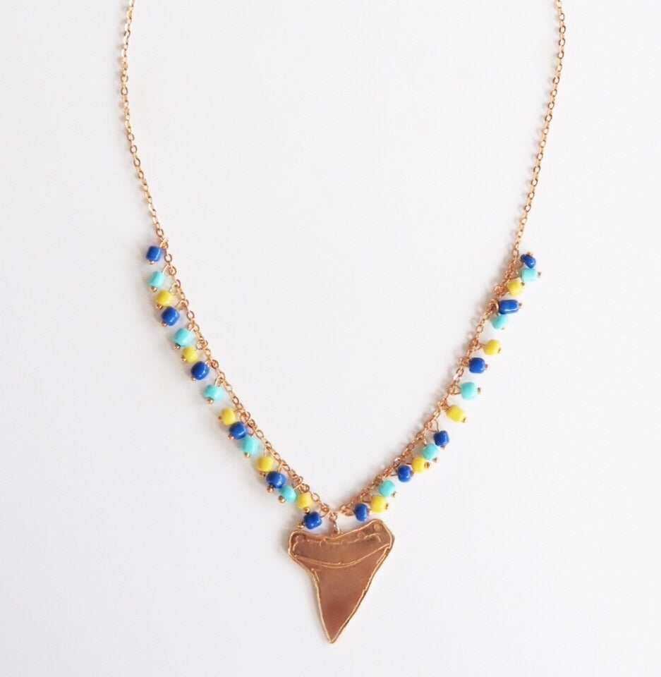 Image of Shark Teeth Single Necklace