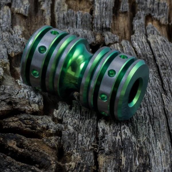 Image of Lime Green Triple Bead Set #6
