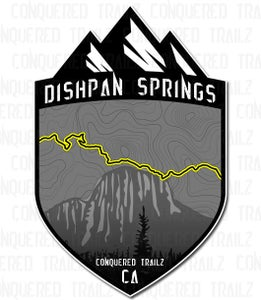"Image of ""Dishpan Springs"" Trail Badge"