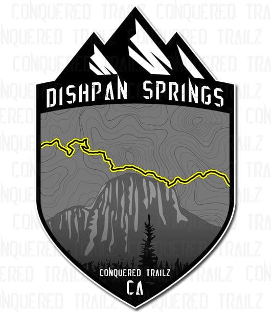 "Image of ""Dishpan Springs"" Trail Badge"