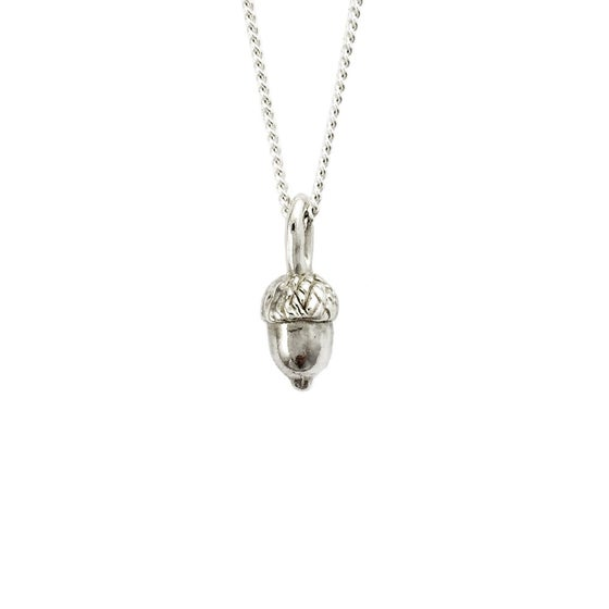 Image of Acorn Necklace 3D mini