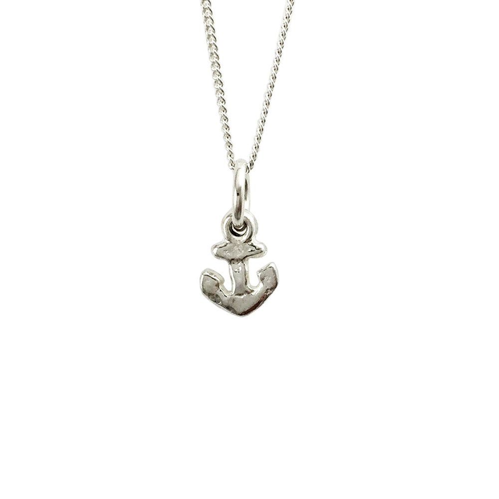 Image of Anchor Necklace 3D mini