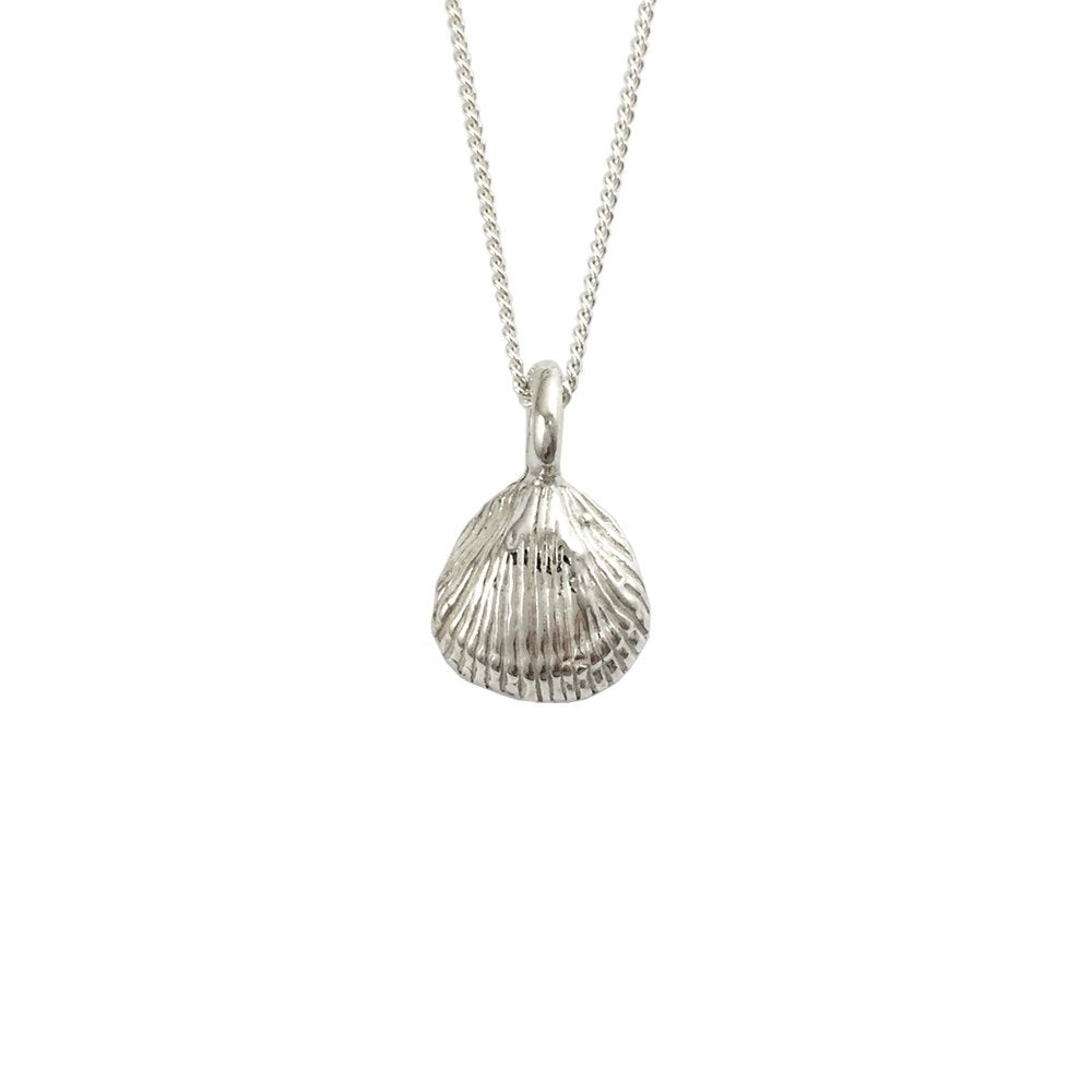 Image of Clam Shell Necklace 3D mini