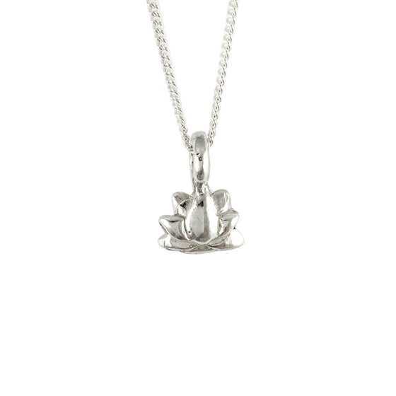 Image of Lotus Necklace 3D mini