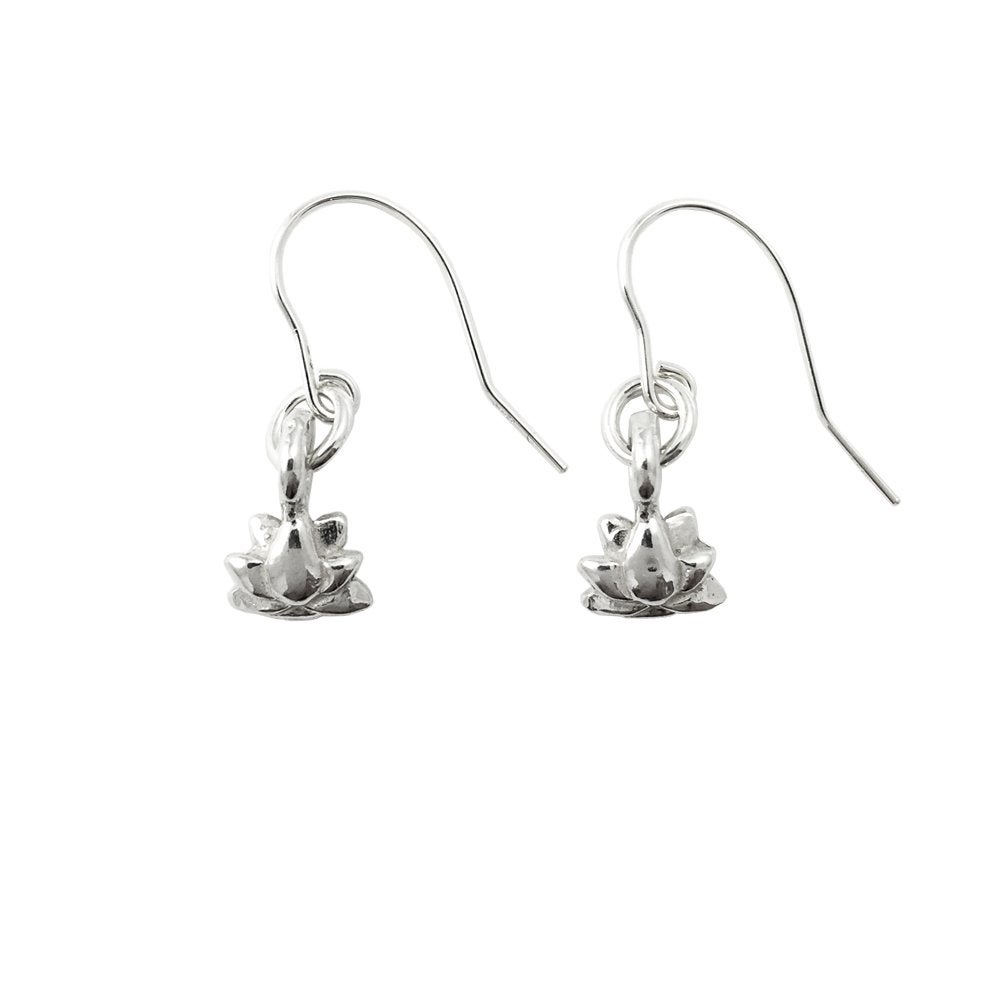 Image of Lotus Earrings 3D mini