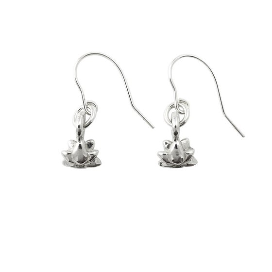 Image of Lotus Earrings 3D mini