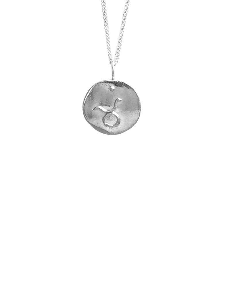 Image of Zodiac Medallion Necklace
