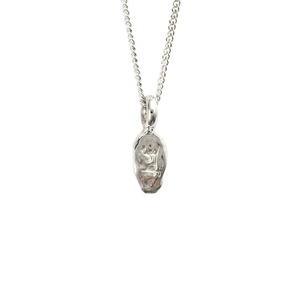 Image of Lotus Petal Necklace Karma mini : Balance of Actions