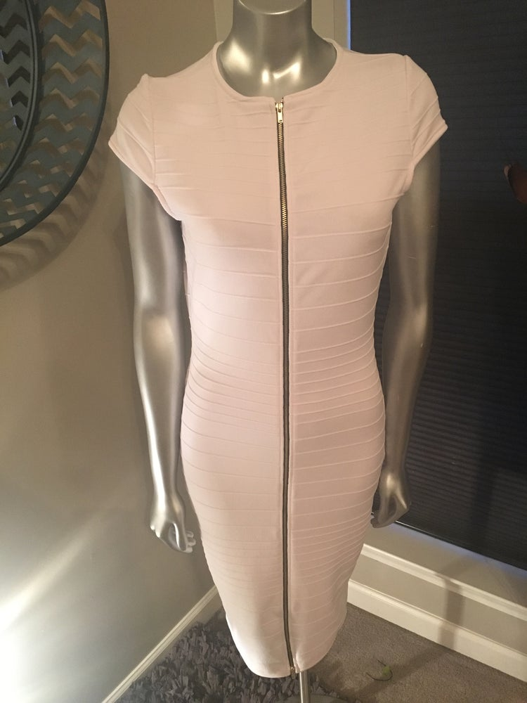 Image of White Bandage Dress