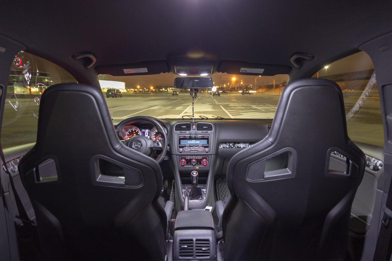Image of 18pc Interior LED Kit Error Free - Crisp White fits: BMW 5 Series e39 Sedan 1997-2003