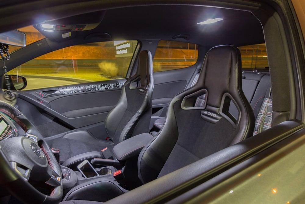 Image of Complete Interior LED Kit Fits: Volkswagen Cabriolet  1993-2002