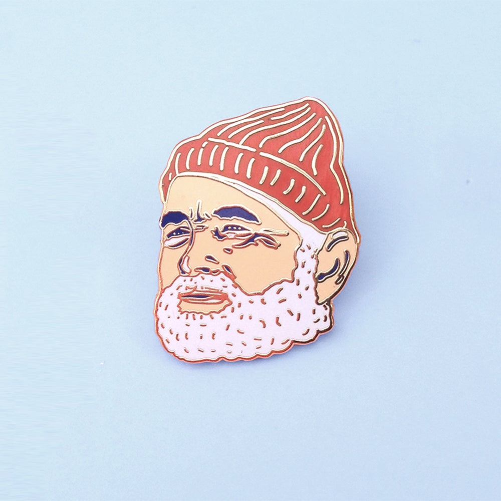 Image of Bill Murray Enamel Pin: Solo Edition