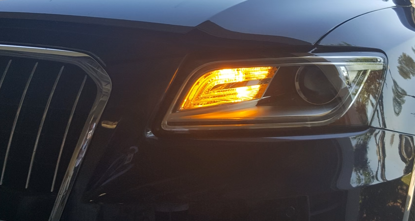 Image of PWY24W Front Turn Signals Error Free - Available in White or Amber fits: Audi A3