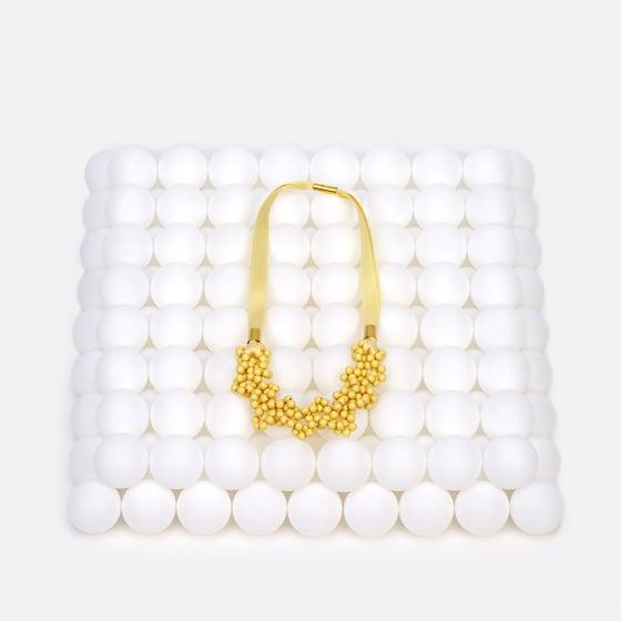 Image of Lemon bubble necklace