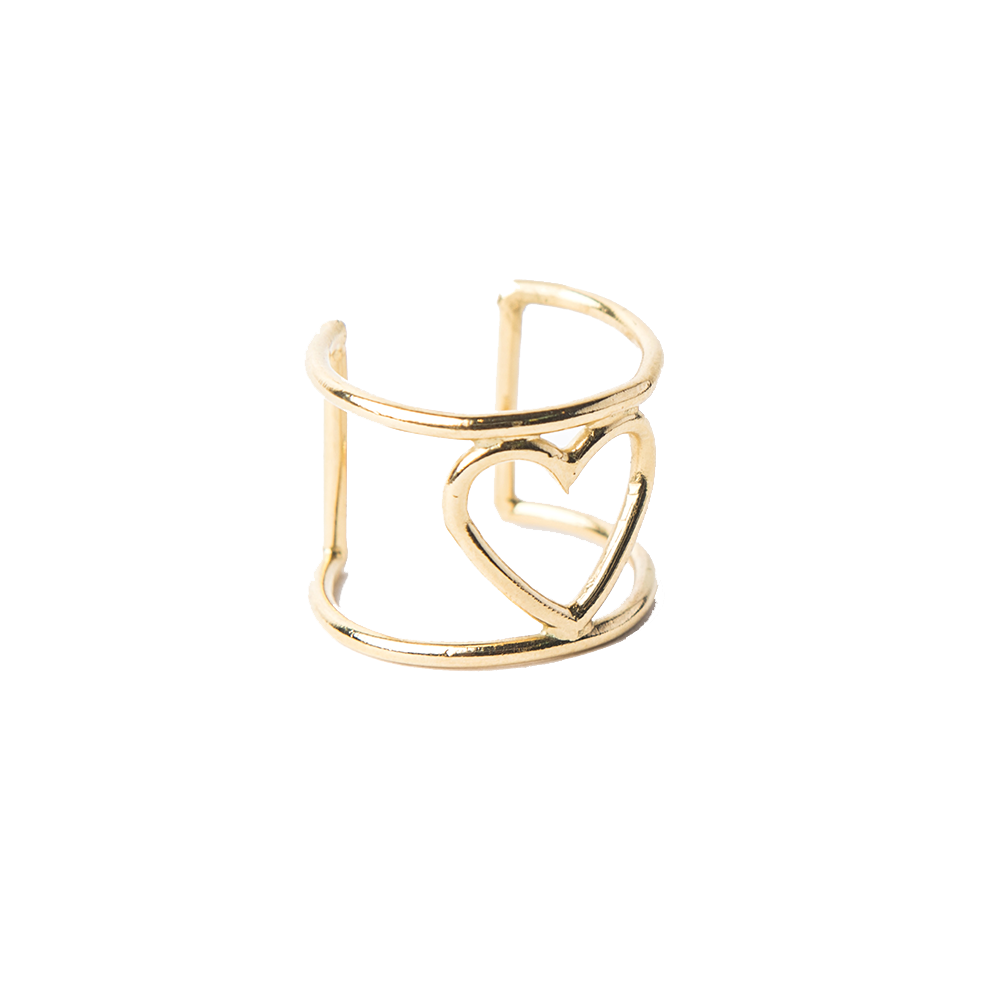 Detalle de Broken Wire Heart ring