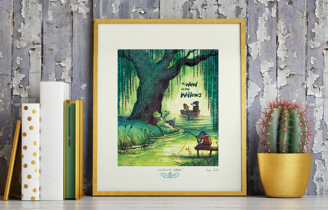 Image of 'The Wind in the Willows' - ltd edition giclee print