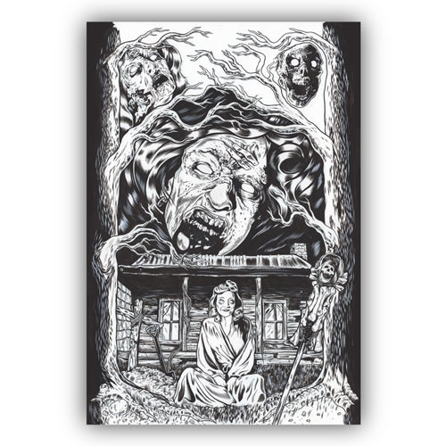 Image of EVIL DEAD original art