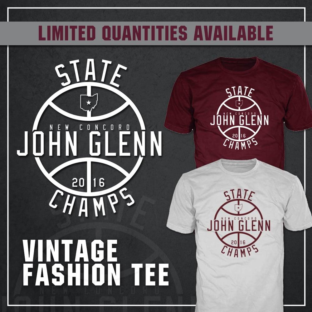 Image of John Glenn Muskies // 2016 State Champions (Vintage T-Shirt)