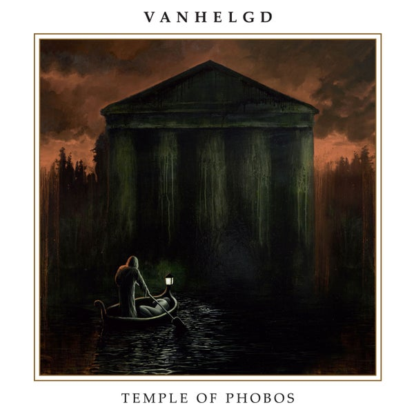 "Image of VANHELGD ""Temple Of Phobos"" LP + 7"" EP"