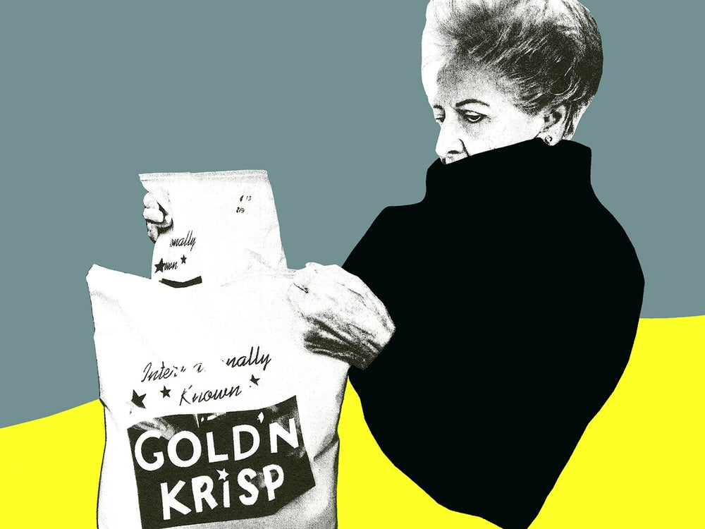 Image of Edition Print (GOLD'N KRISP)