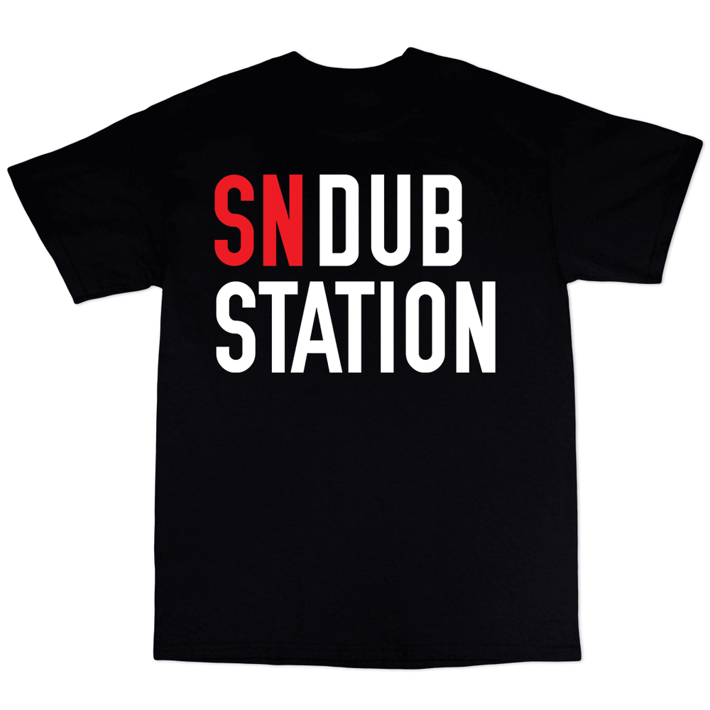 Image of WHITE/RED/BLACK SNDUBSTATION TEXT
