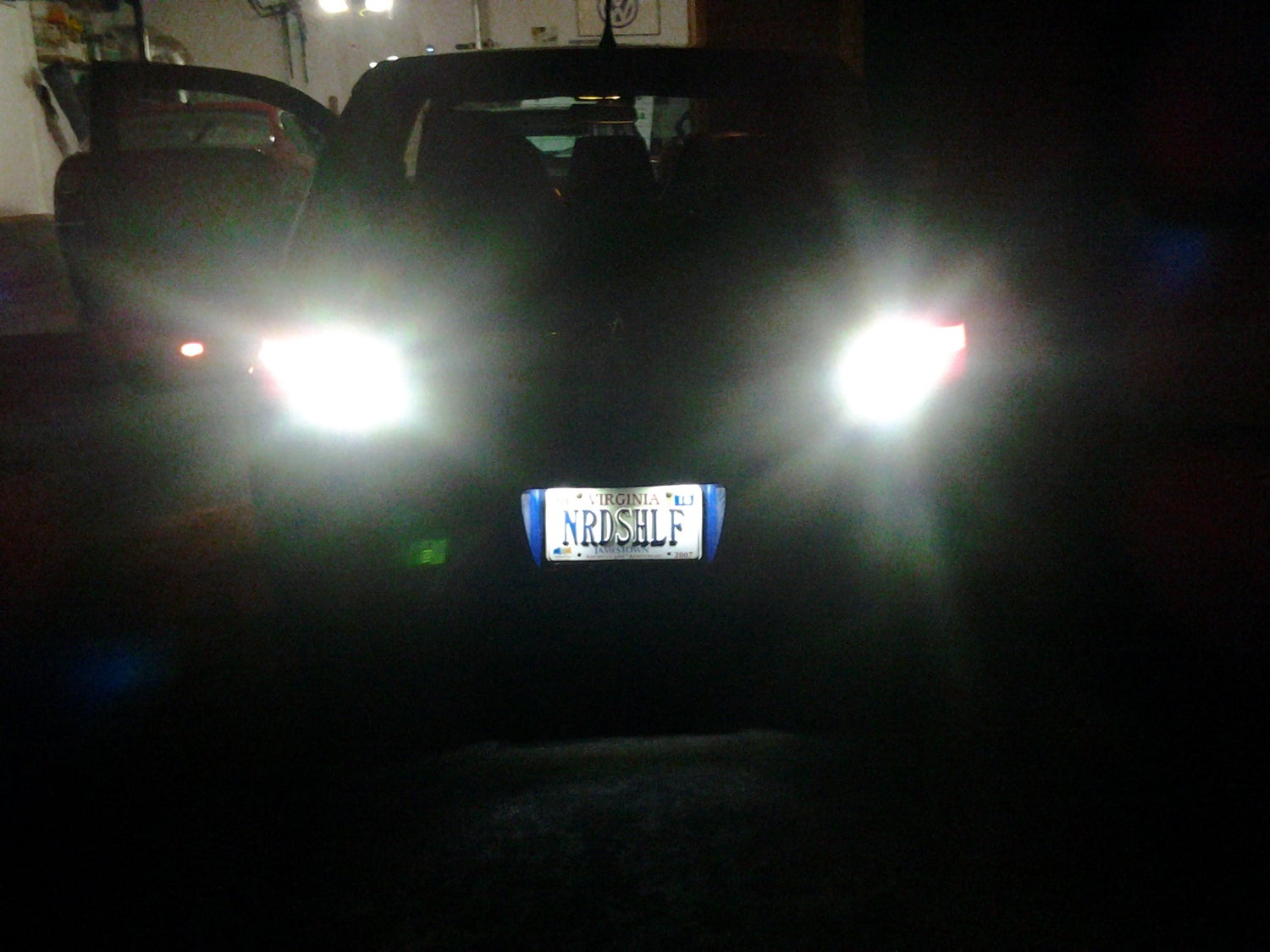 Image of Bright 15pc Reverse CREE LEDs - Error Free - Fits: All Touareg Models/Years