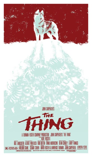 Image of The Thing poster