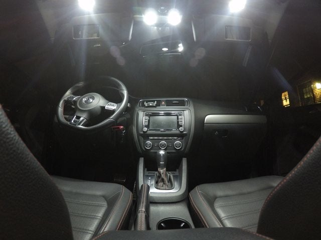 Image of Complete Interior LED Kit ERROR FREE & License Plate LEDs fits: MK5 Volkswagen Rabbit