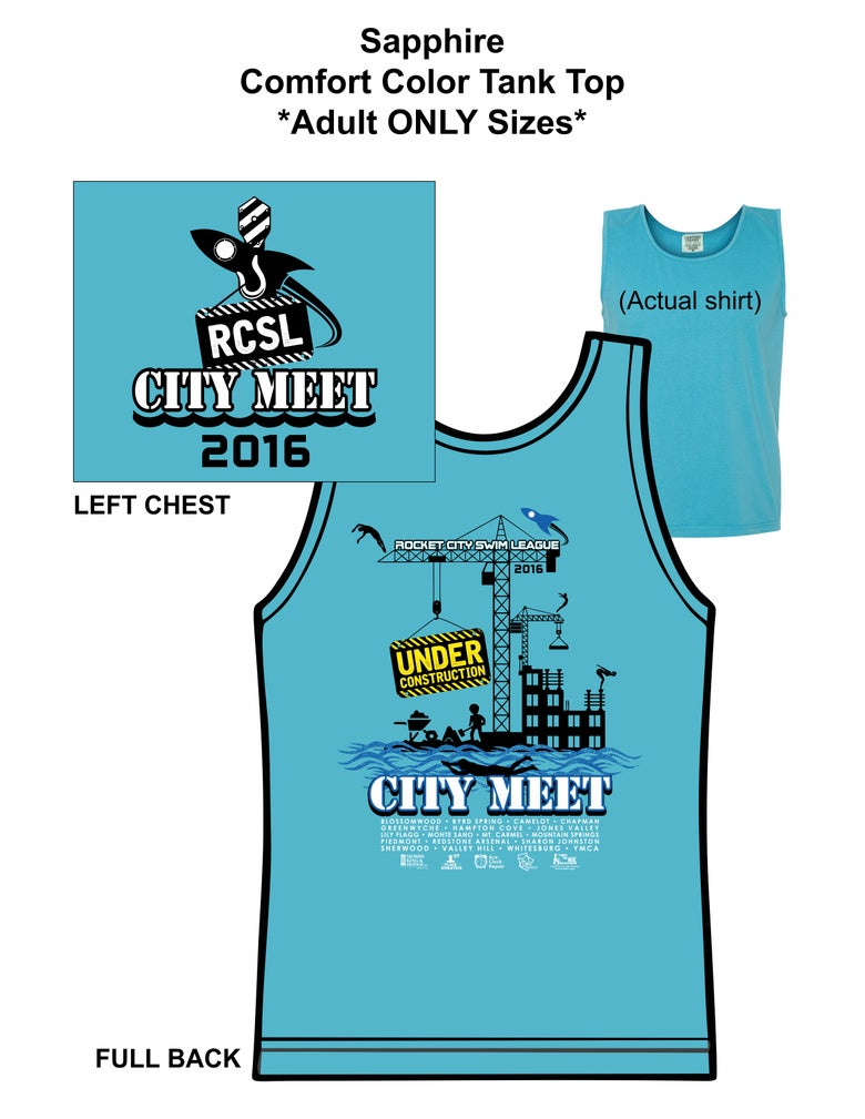 Image of Sapphire Adult Only Tank Top