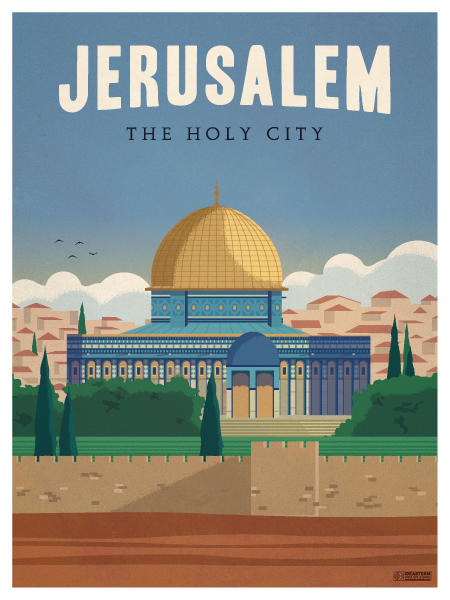 Image of Jerusalem Poster