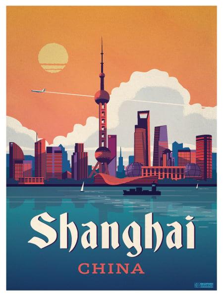 Ideastorm Studio Store Shanghai Poster