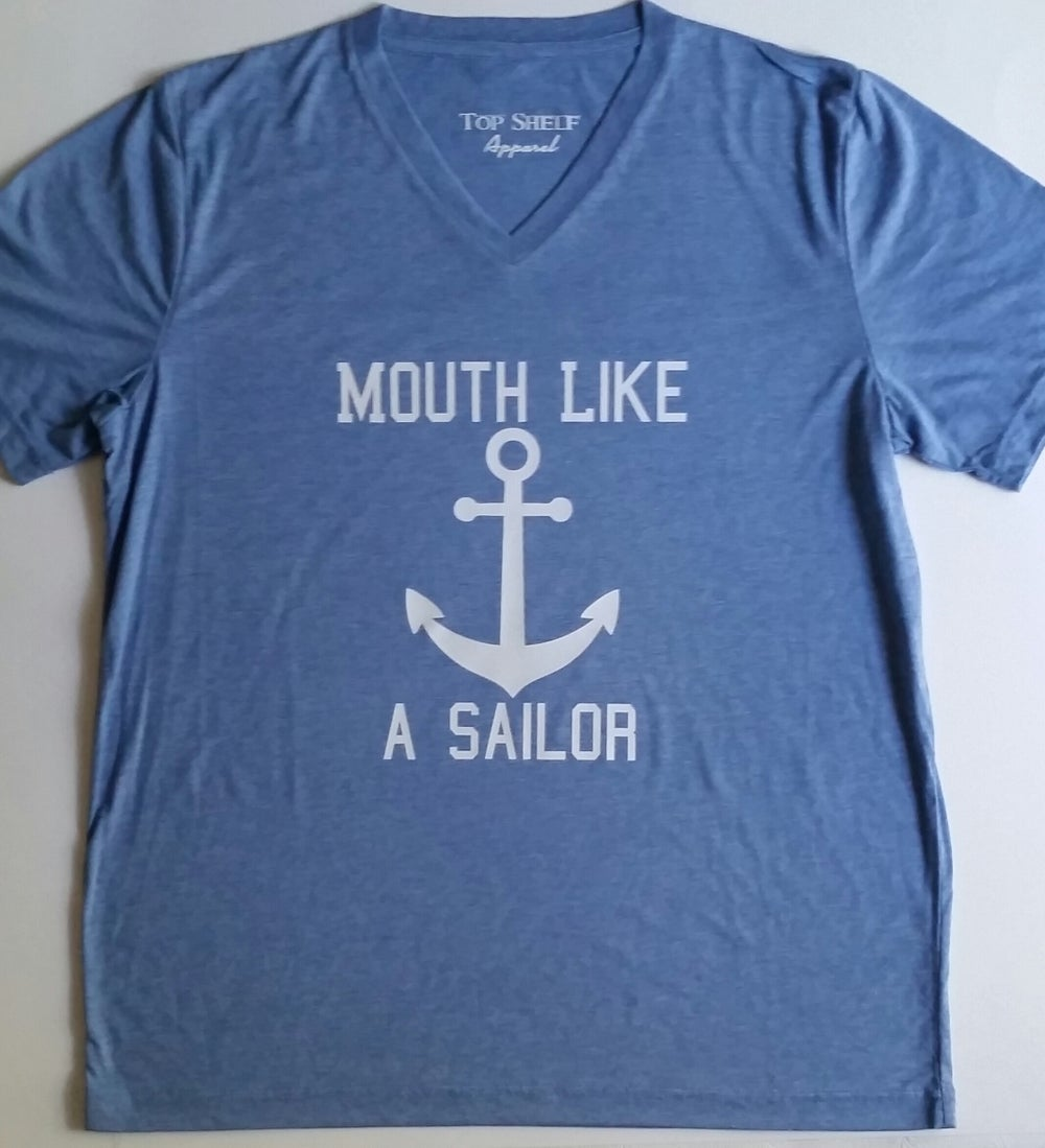 Image of Mouth Like A Sailor - tee