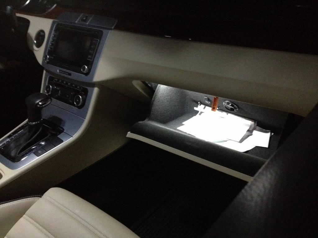 Image of Glove box LED - Bright - Crisp White - Error Free