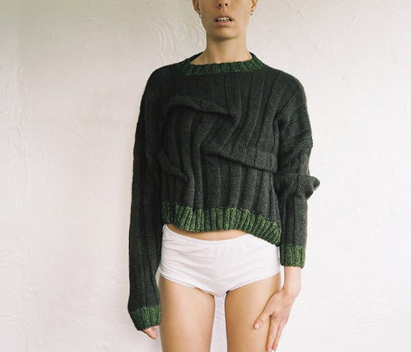 Image of Wonky Cashmere Jumper