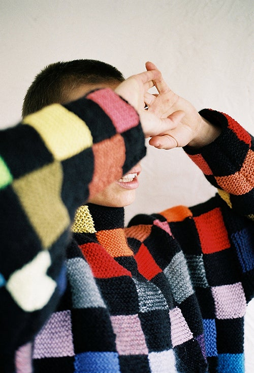 Image of Patchwork Ends Jumper