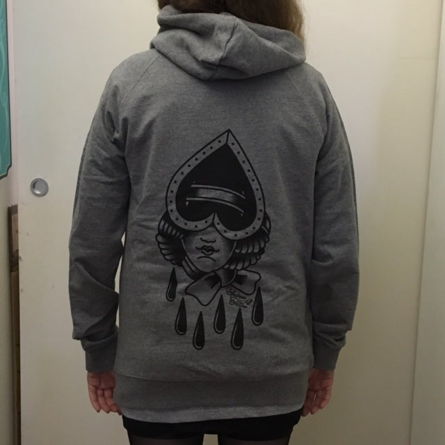 "Image of ""Blind Love"" Zip up hood"