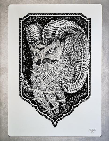 Image of Phoenix / Art Print