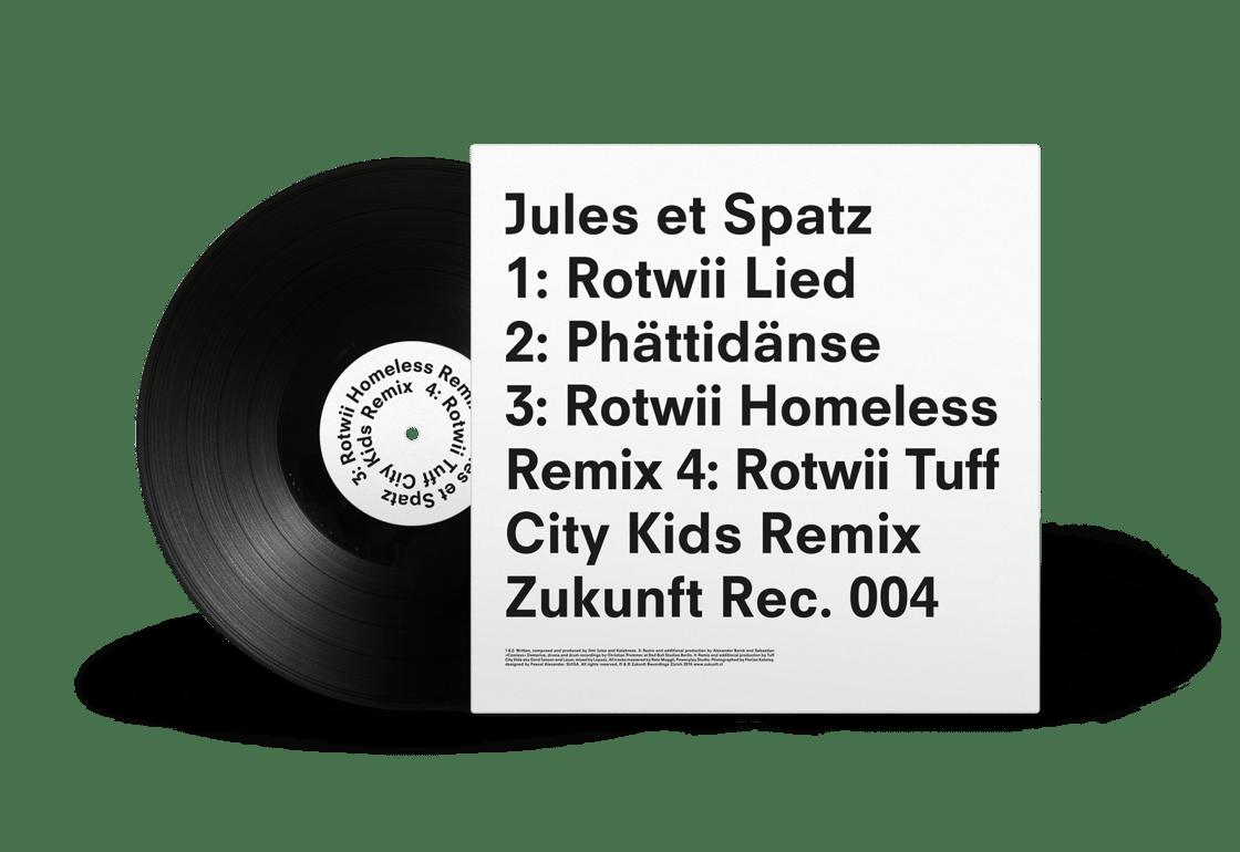 Image of Jules et Spatz «Rotwii»