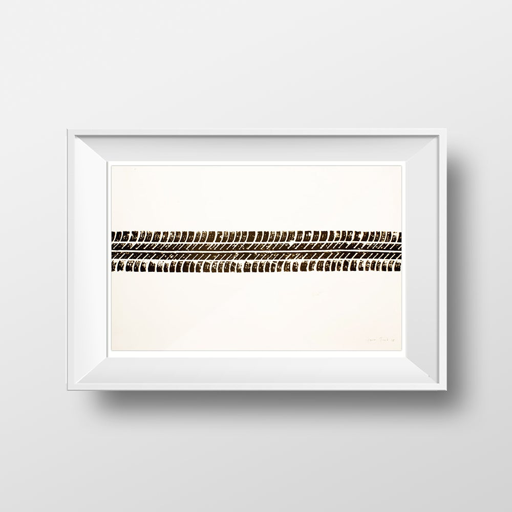 Image of 'Tyre Print' by Gavin Turk