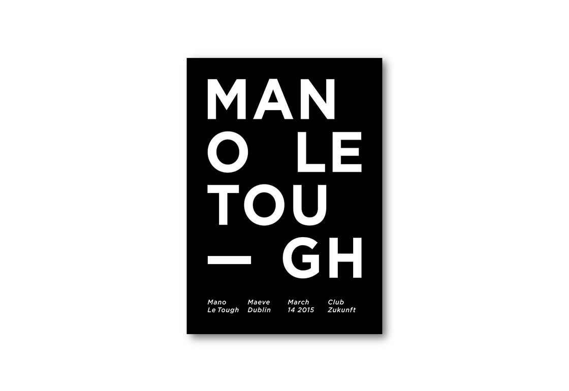Image of Poster «Mano Le Tough»