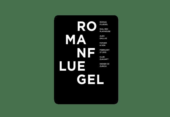 Image of Poster «Roman Flügel»