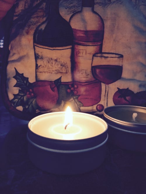 Image of All Natural 100% Beeswax Candle